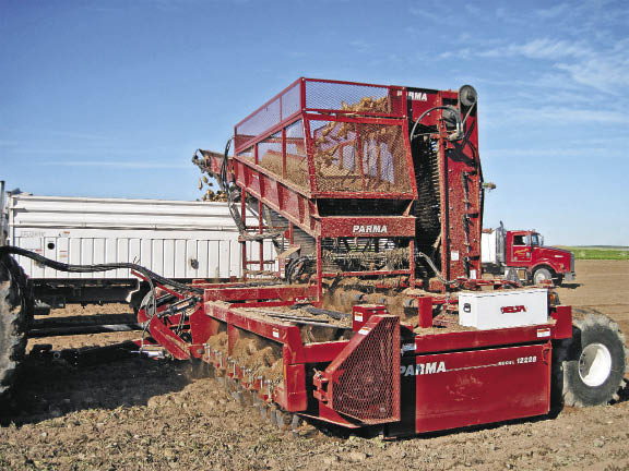 Parma 12-Row Sugarbeet Harvester